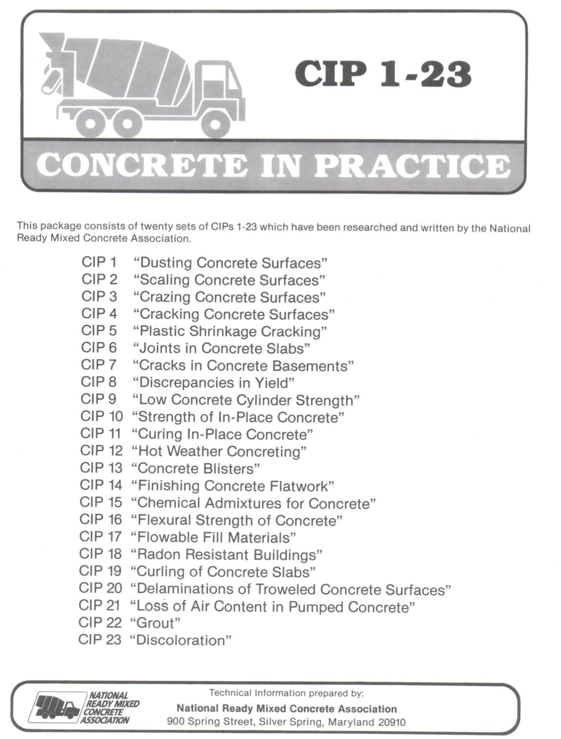 Concrete in Practice [PUB]