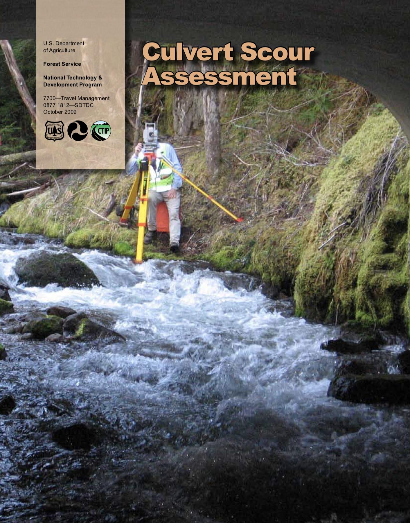 Culvert Scour Assessment [PUB]